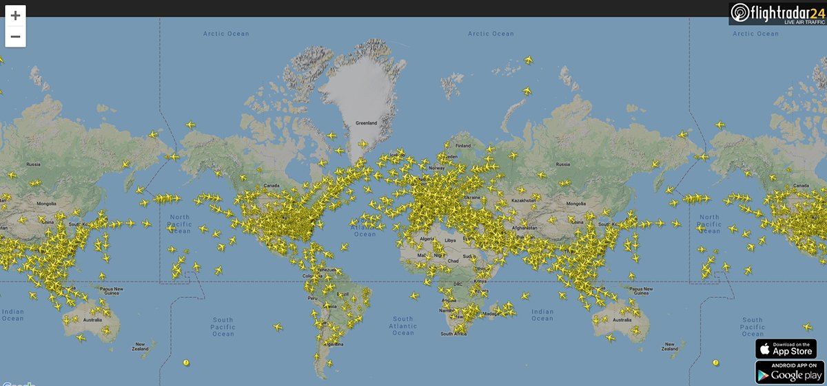 Flightradar24 Sledujte Letadla V Realnem Case