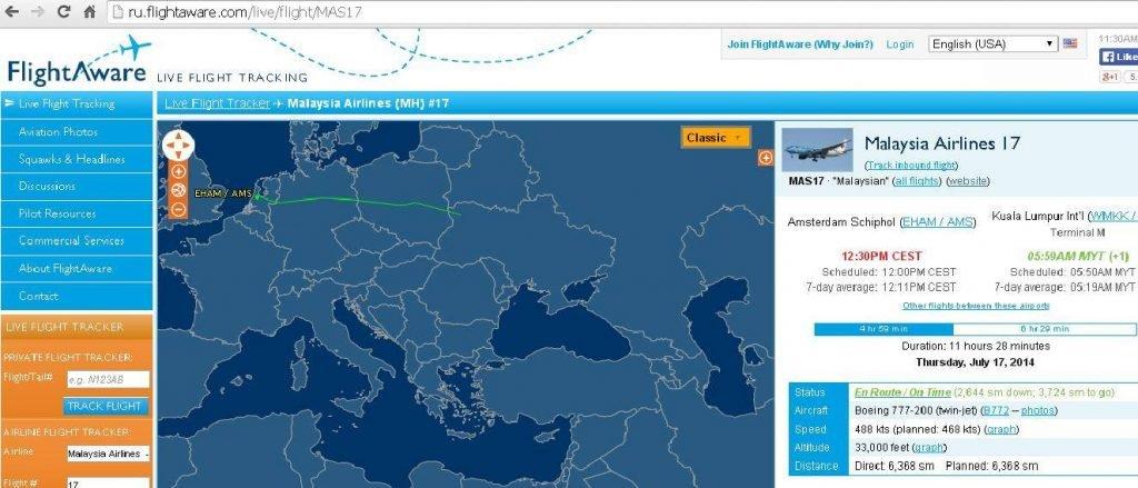 FlightAware 特徴