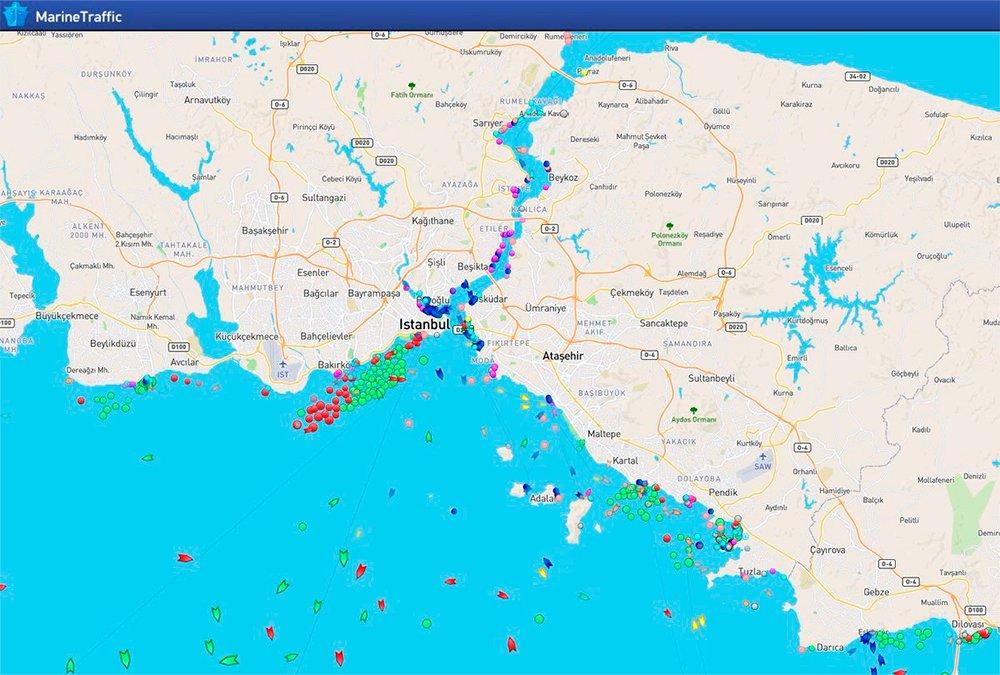 Marine Traffic — Canlı Gemi Takip